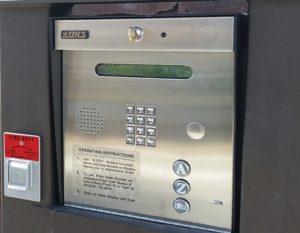 keyless door entry system
